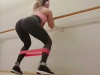 These fit babes are built for sex and they love working out in tight leggings