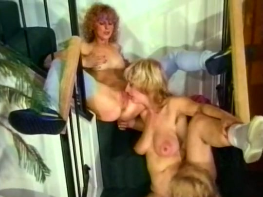 Vintage Lesbian Porn Compilation With Two Brunettes And -5763