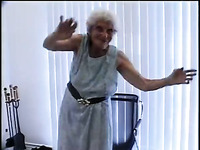 Ugly time worn granny wanna get last fuck in her life