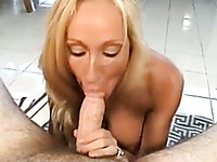 Light haired wifey of mine is known for her awesome blowjob skills