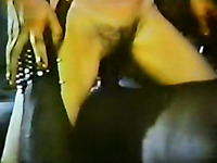 Two slutty and horny white chicks got their pussies banged really hard