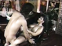 Vintage porn compilation with disgraceful brunette and slutty blondie