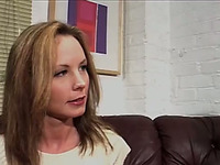 Beautiful blonde MILF gets pickuped for oral weasels