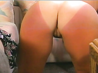 Some good blowjob is provided by amateur vintage blond haired harlot