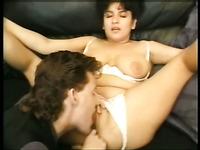 Lewd ugly amateur wife gets a chance to enjoy sensual cunnilingus