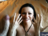 Spraying with hot jizz my sexy girlfriends compilation part 6