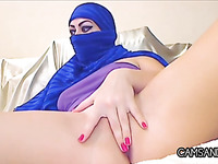 Wicked Arab Tramp With A Hijab