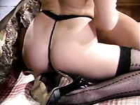 Old perverted jerk loved to fuck her tight and wet pussy