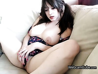 Immoral Amateur Harlot With Large Breasts