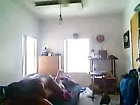 Black dude loves watching how strange dude fucks his girlfriend