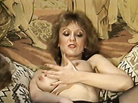 After having steamy fuck on a couch Asian mommy gets her face glazed in jizz