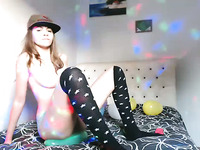 Teens Naked Balloon Birthday Party Live