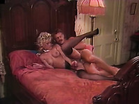 Insatiable MILF Amber gets screwed hard doggy style
