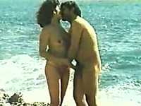 Amateur couple making love on the beach reality sex video