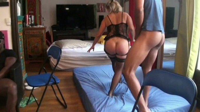 Amateur Blondine Ehefrau Hotel