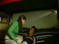 Delightful pale skin student girl gets fucked in her dorm room