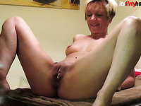 Fucking German Milf on Kitchentable