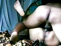 My chubby Indian MILF wife loves merciless missionary style pounding