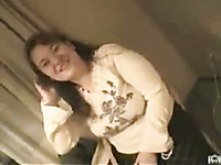 Sexy Japanese BBW prostitute pleasing me with blowjob