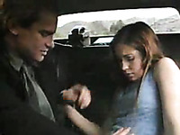 I picked up hot street hooker and ate her cunt in my car