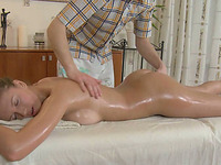 Erotic massage turns into hot and awesome sex with kinky babe