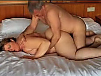 My cocky neighbour helps me to satisfie my chubby wife