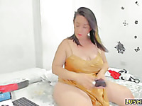 sexy bbw girl wants you to cum deep inside her wet pussy