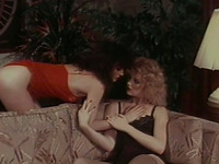 Vintage lesbian porn with two mesmerizing and sexy ladies