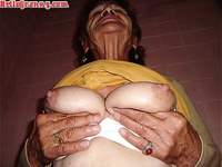 HelloGrannY Exclusive Latin Grandma Nudes Slides