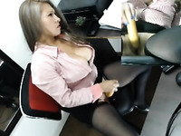 Mozenrath Presents : Colombian Beautiful Sexy Girl Masturbation In Office On Cam
