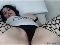 Huge tits amateur fingers on cam