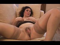 Lusty mature ladies masturbating wet pussies in steamy compilation
