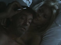 Catherine Deneuve and her smoking man have nice time in bed
