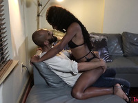 Super Sexy Black TGirl Gets Finger And Cock Up Her Horny Ass, Part 1 - TrannyDates.Club
