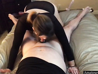Slut Wife Telling Her Husband About Cheating On Him While He Fucks Her