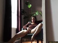 Horny MILF Masturbating On Her Own