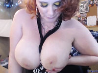 Huge Tits Pawg MILF home masturbation