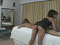Gorgeous blondie receiving erotic massage from hot brunette girlfriend