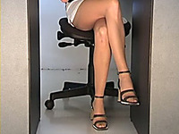 I am a lucky guy working with hot girls in the office
