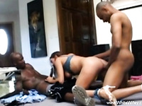 Gaping Anal Fuck With Black Cock Fun Sex Experience