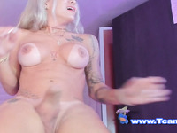 Sexy Kendra Taking Photo While Jerking