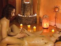 Lingham Massage Is An Erotic Handjob MILF Doing It