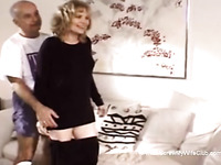 He Watches His Wifey Getting Screwed Hard Fucking Session