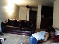 Interracial loving cheating teen