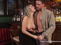 Italian Chubby Housewife Is Happy Moment Again and agian