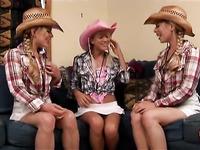 Texas Lesbian friend in Cowboy attire