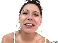 Hot Latina Girl fucked hard by a Guy