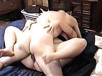 Freaky guy is hungry for sex and fucks a fat dirty bitch