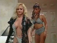 Incredibly seductive MILFs perform passionate lesbian sex scene